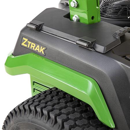Grüne Kotflügelverkleidung des Z545R