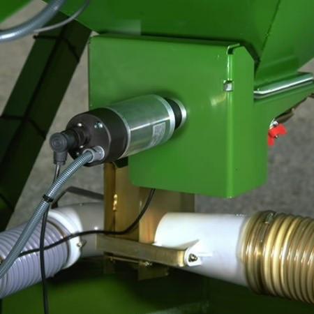 Elektrisches Dosiersystem in der ISOBUS/GreenStar™ Option enthalten
