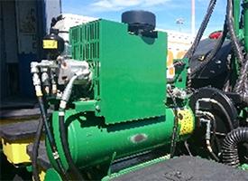 Kompressorbaugruppe für aktiven Anpressdruck