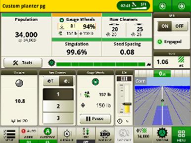 Vorabnahmeseite des SeedStar 4HP