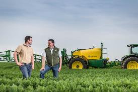 Nach Bedarf investieren: Die vielfältigen Ausstattungsmöglichkeiten für die M700 erfüllen die unterschiedlichsten Anforderungen im Pflanzenschutz