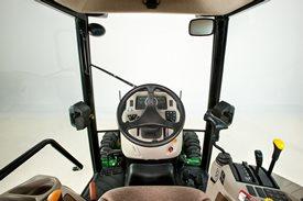 Erstklassiger Fahrerkomfort und Sicht