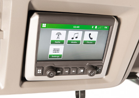 Hochmodernes digitales Touchscreen-Radio