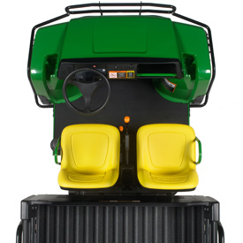 Komfortable und praktische Fahrerplattform