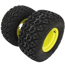(A) geländegängige Reifen