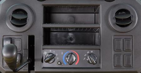 Bedienelemente für Heizung/Lüftung/Klimaanlage