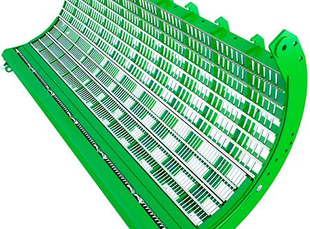 Barra de refuerzo de acoplamiento rápido que mejora la productividad en cebada hasta un 10 por ciento
