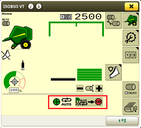 Fácil activación del portón automático