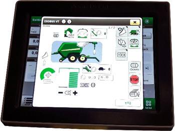 Monitor Universal 4240 con página de trabajo principal de C441R