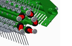 Las secciones forjadas de pista de excéntrica aumentan la fiabilidad
