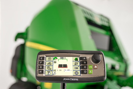 Monitor de aperos 1100, atractivo y fácil de controlar