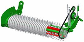 Estándar - cuatro barras de dientes - recogedor