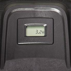 Cuentahoras de funcionamiento con función de recordatorio de mantenimiento