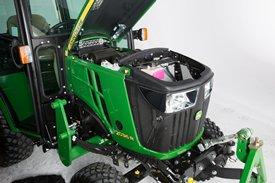 Motor diésel de 3 cilindros Yanmar® de la serie TNV