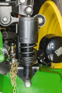 Suspensión mecánica de cabina