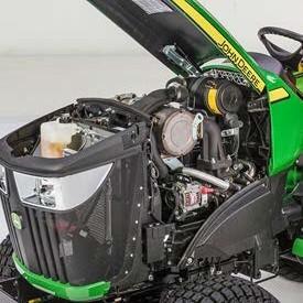 Motor diésel de 3 cilindros Yanmar de la serie TNV