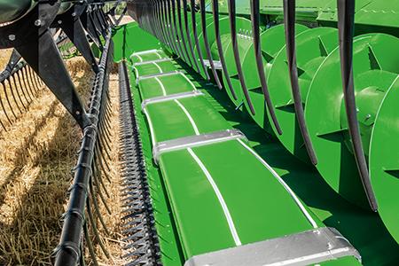 600PF avec transfert actif de la récolte