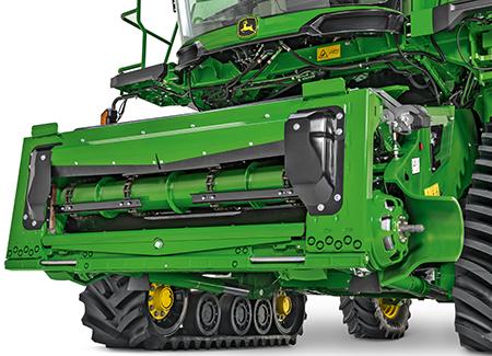 Construction renforcée adaptée aux unités de récolte de céréales à petits grains de 15 m de large et plus