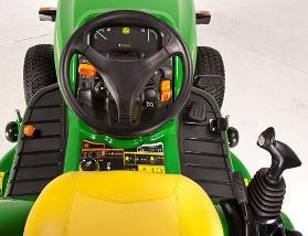 Composants opérationnels du tracteur X950R