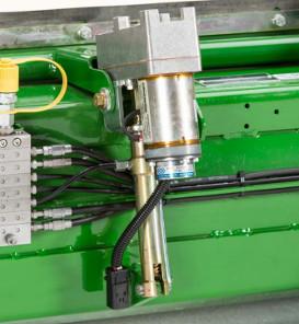 Réglage électrique de l'écart de l'éclateur de grains (code8376)