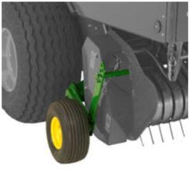Réglages des roues de jauge