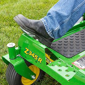Pédale au pied sur le modèleZ345R