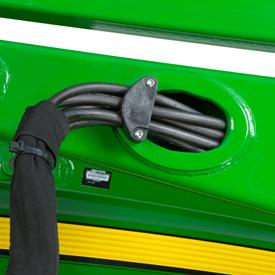 Intégration des conduites hydrauliques