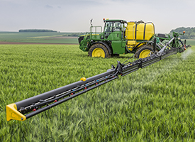 La suspension de roue XtraFlex apporte un contact optimal avec le sol et maximise le confort