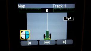 Guidage de passages rectilignes sur la console