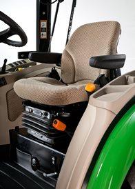 Siège à suspension pneumatique