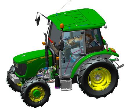 Tracteur 5050E