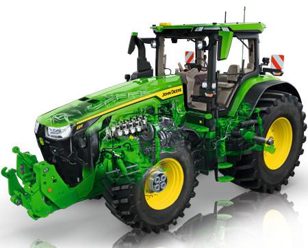 Efficacité globale du tracteur à 94%*