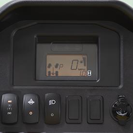 Interrupteur électronique pour 4RM et blocage du différentiel arrière