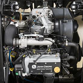 Moteur à essence de 812cm³ (49,6po³)