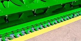 Protection slat for cutterbar
