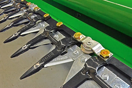 Cutting system and roller bearings