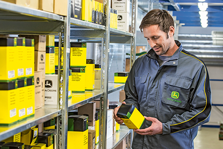 Whatever the challenge, you can rely on John Deere to keep you moving