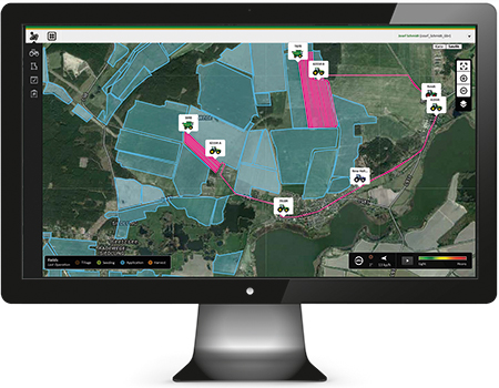 The hub to all your data – MyJohnDeere.com