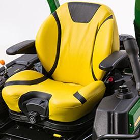 Comfort suspension seat