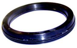 Three-lip plastic seal
