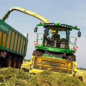 Maximized harvesting efficiency
