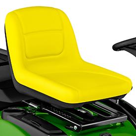 High-back seat
