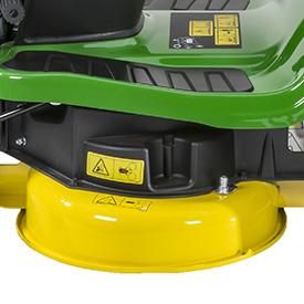 92-cm (36-in.) mower, left side