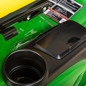 Cup holder and storage with cover (X155R shown)