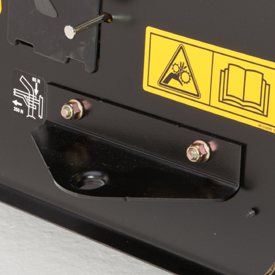 Standard-equipment hitch