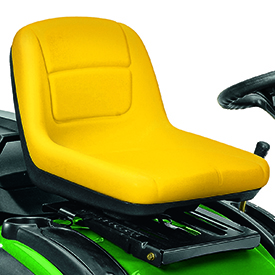 High-back seat (shown on X155R)