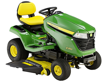 X350 with Accel Deep 42A Mower Deck