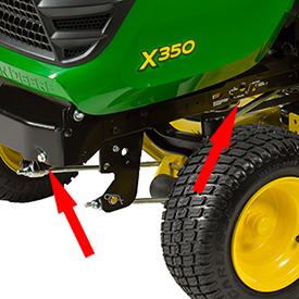 Adjustable lift assist spring kit installed