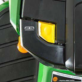 Hydraulic lift lever