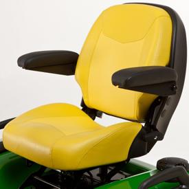 Adjustable armrest option